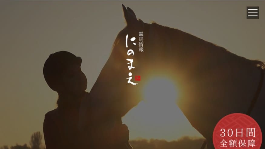 にのまえは当たらない競馬予想サイト?3万円で自腹検証!